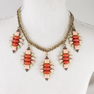 Bright Coral Statement Necklace by Lane Bryant